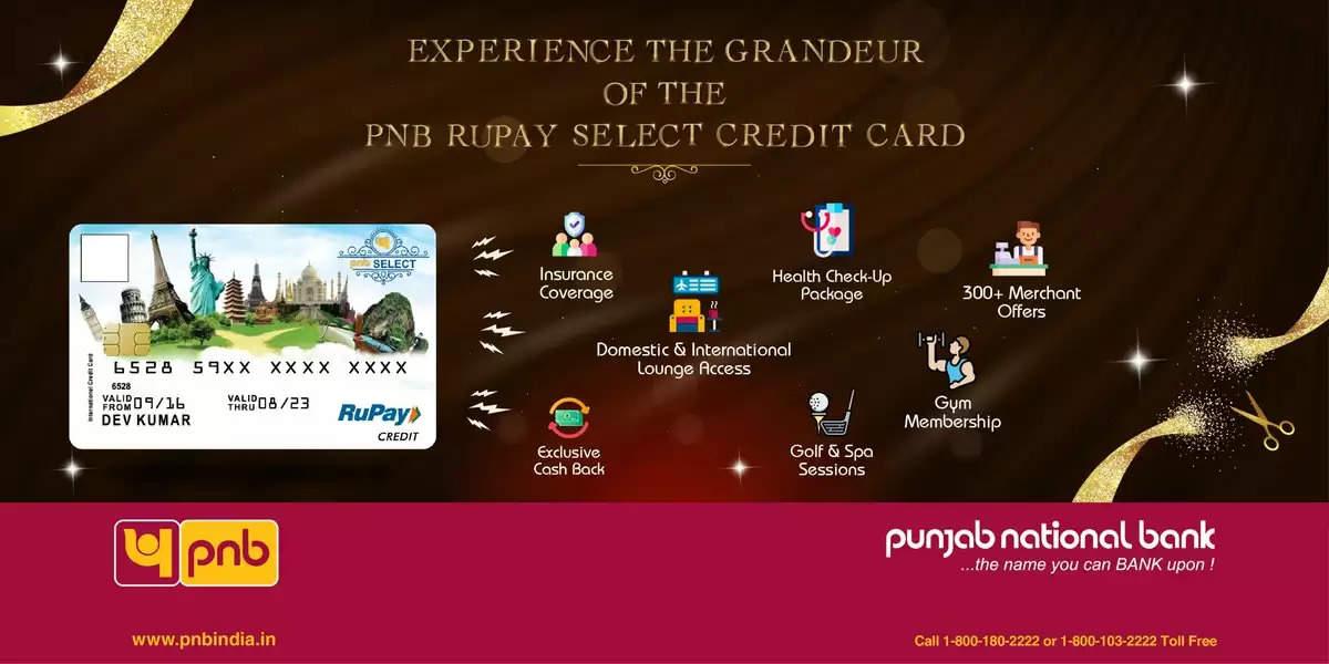 PNB Rupay Select Credit Card