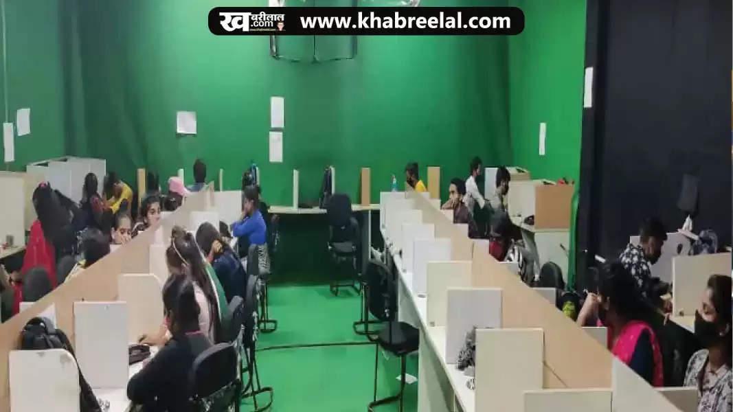 fake call centre at delhi