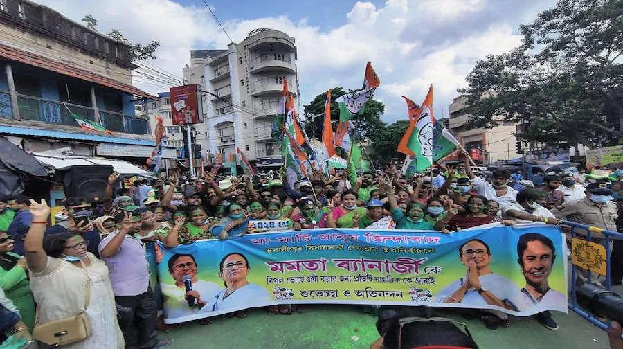 Mamta banargee voter rally