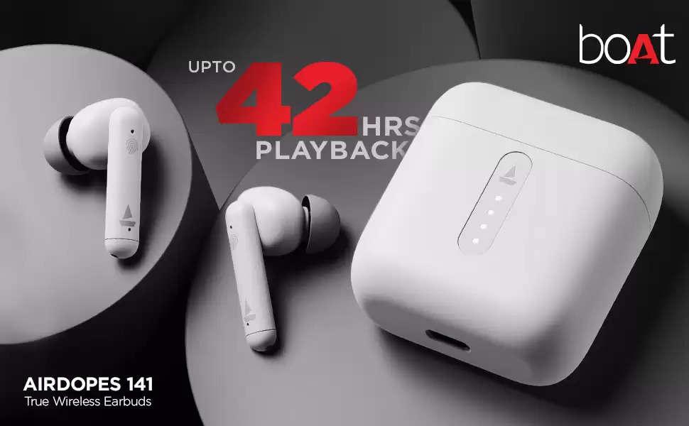 boAt Airdopes 141 True Wireless Earbuds