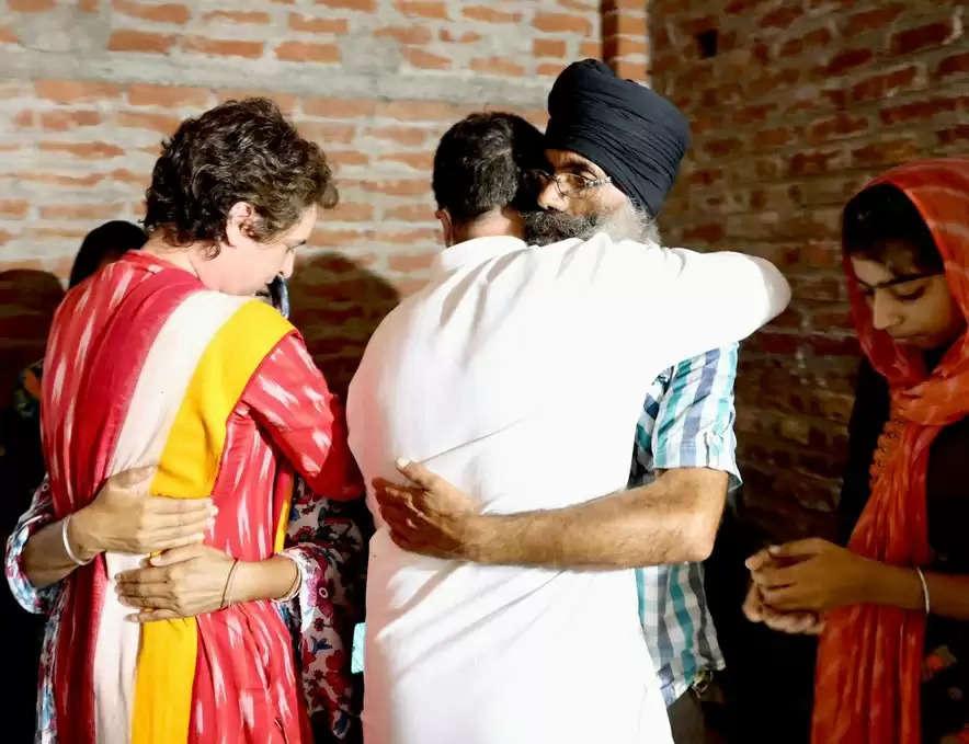 rahul gandhi in lakhimpur