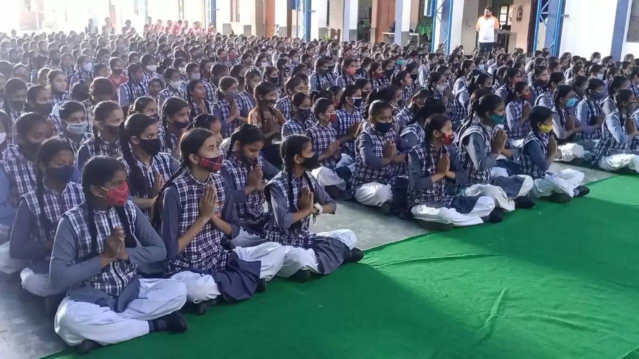 yoga shivir at baleram brajbhushan